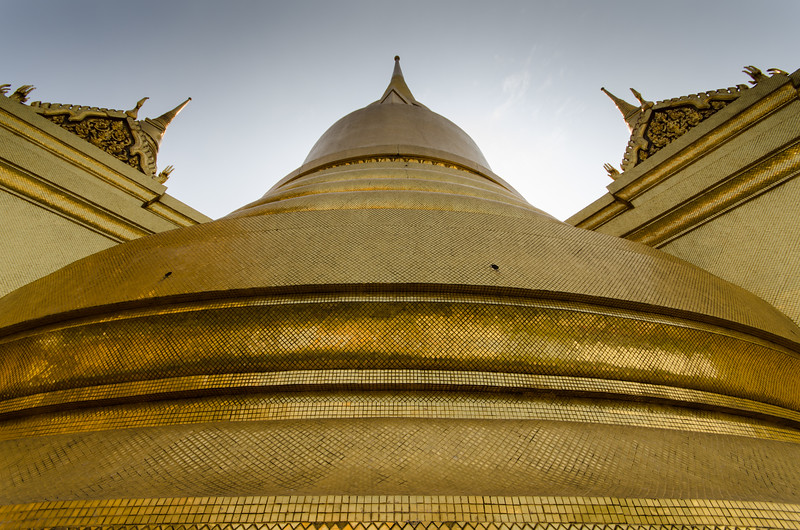 Golden Pagoda at the Grand Palace.