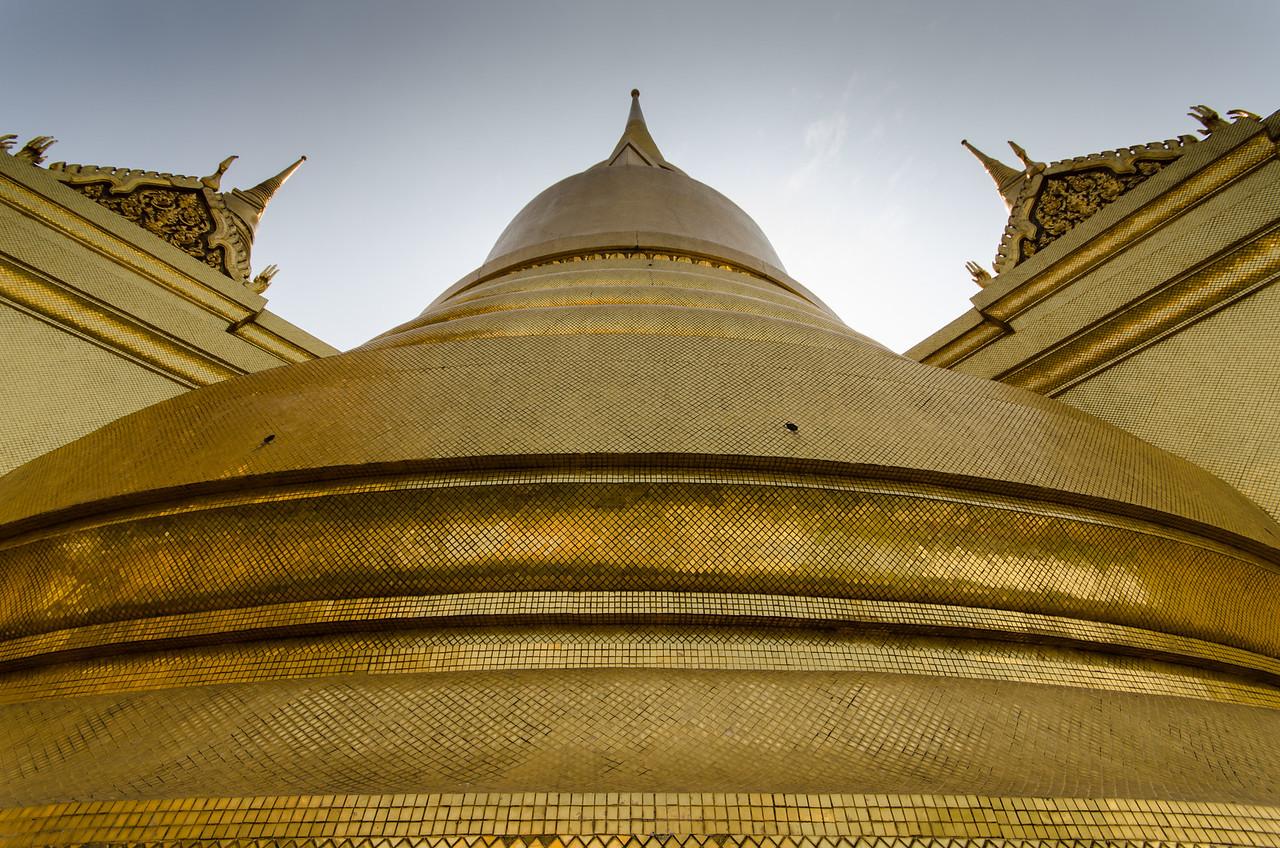 Golden Pagoda at the Grand Palace.