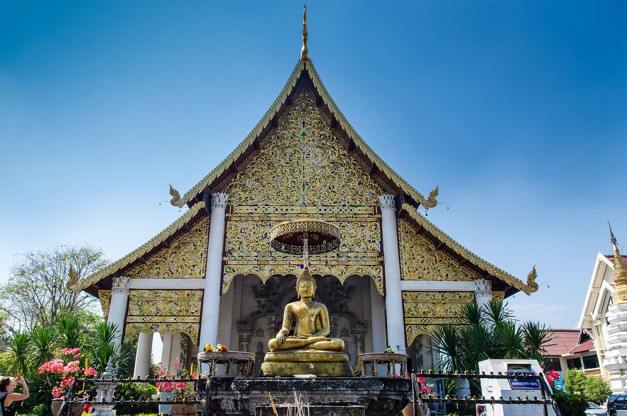 Phra Virhara Luang at Wat Chedi Luang.