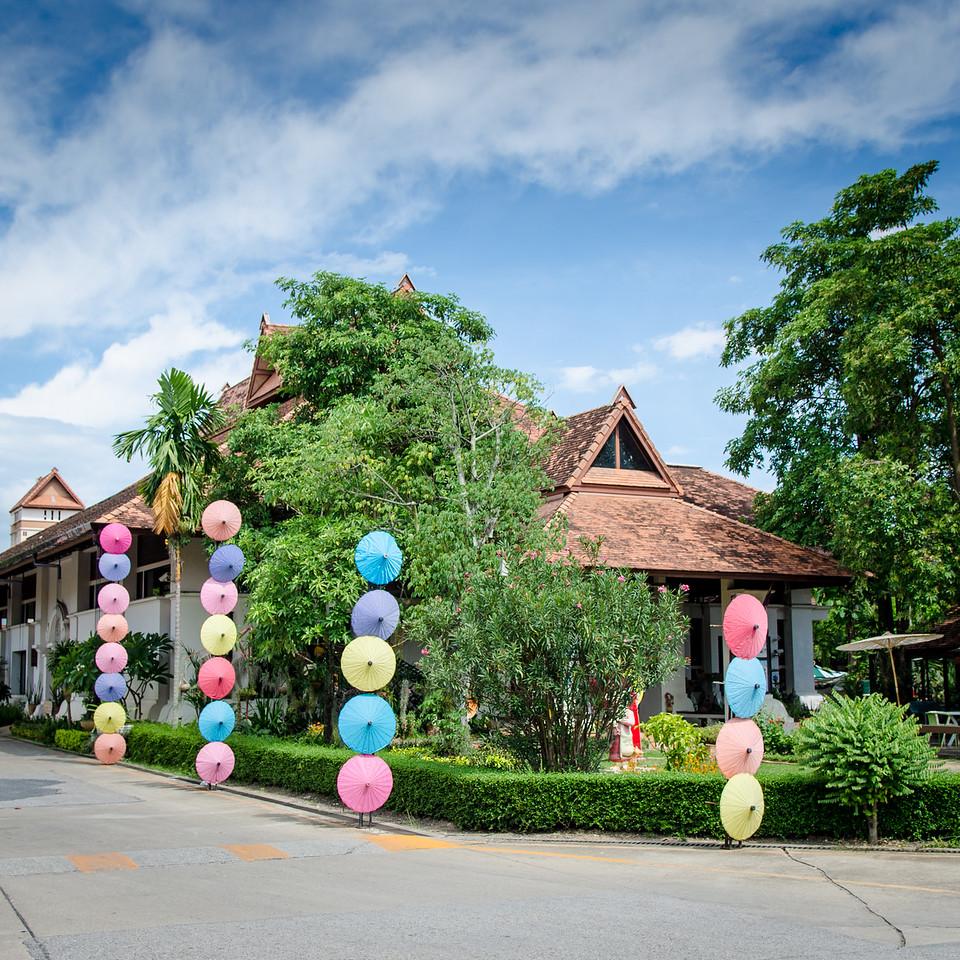 The Bo Sang Umbrella Factory.