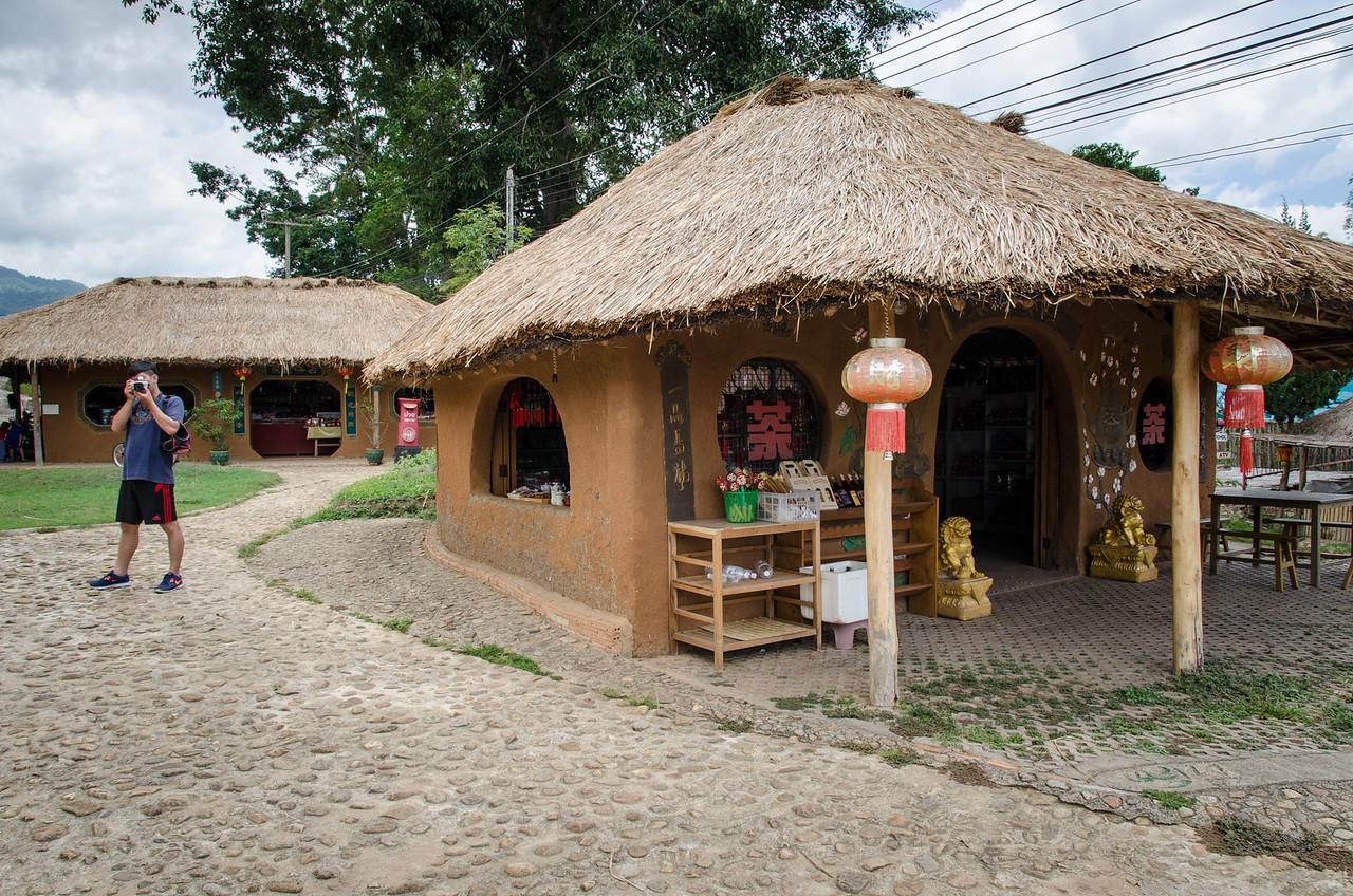 Shop in Santichon village.