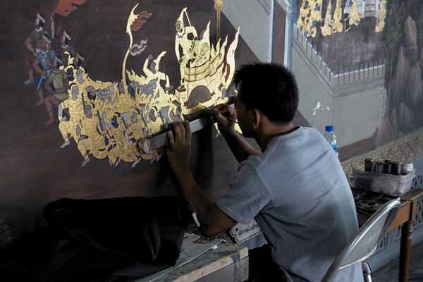 Restoration at the Grand Palace