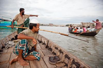 Life along the Buriganga River in Dhaka, Bangladesh