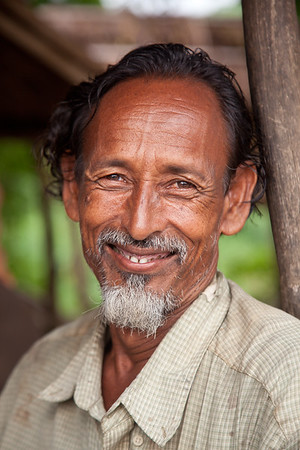 Portrait of Bangladeshi man