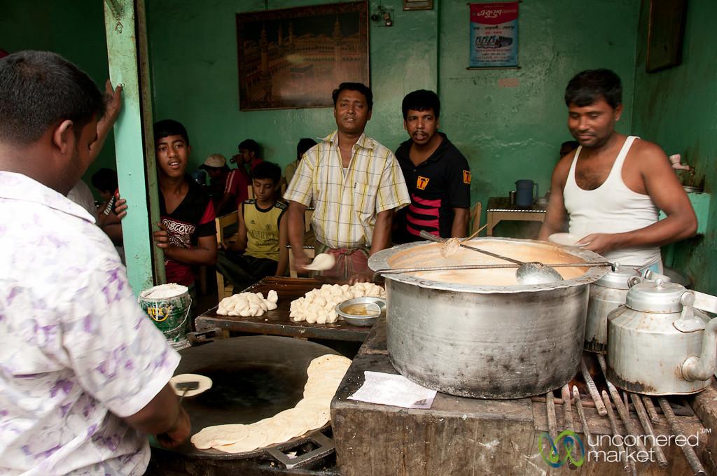 Paratha and Tea in Old Dhaka - Bangladesh