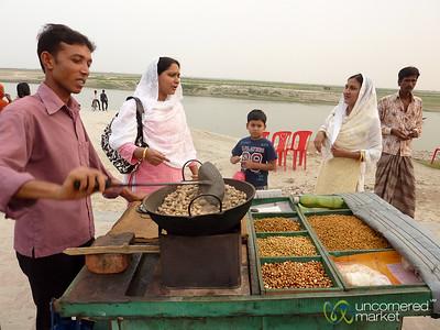 Peanuts and Snack Stand - Rajshahi, Bangladesh