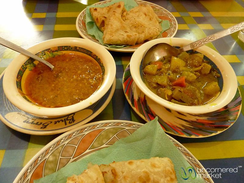 Breakfast Sabzi and Dal - Rangamati, Bangladesh