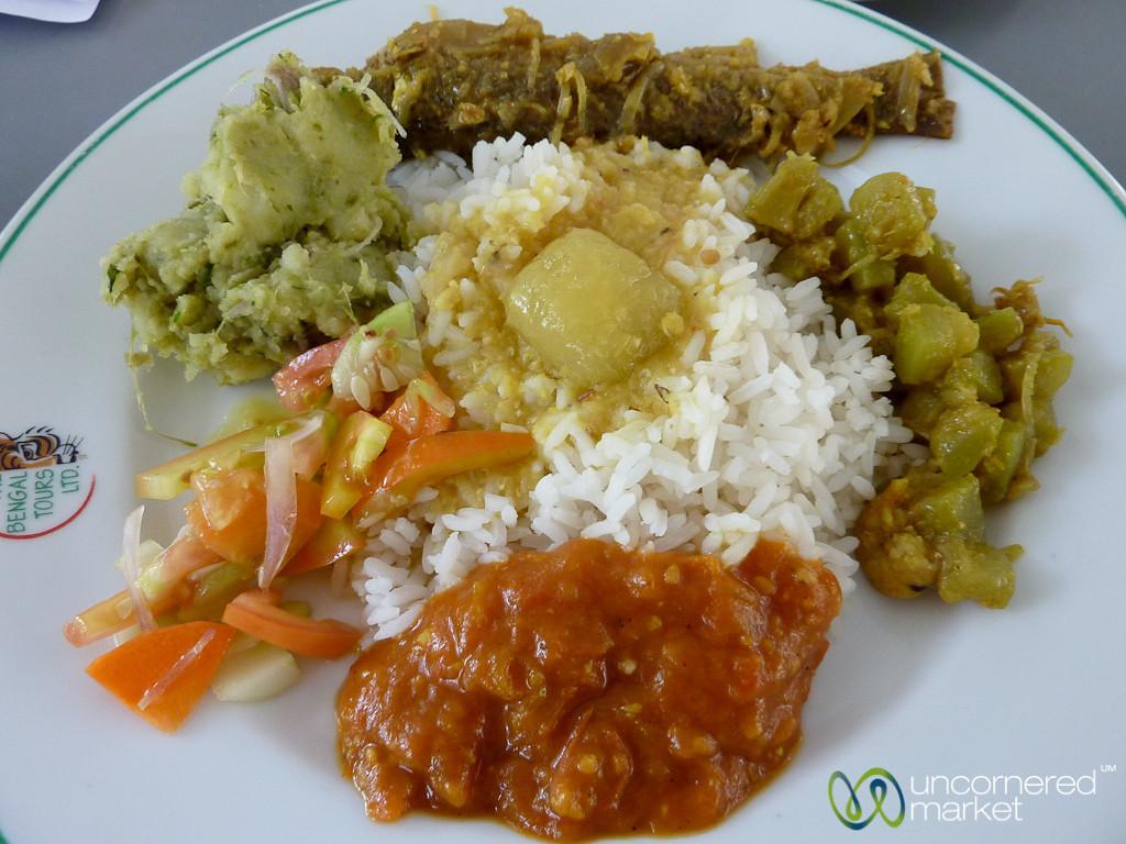 Bangladesh Lunch - Sundarbans, Bangladesh