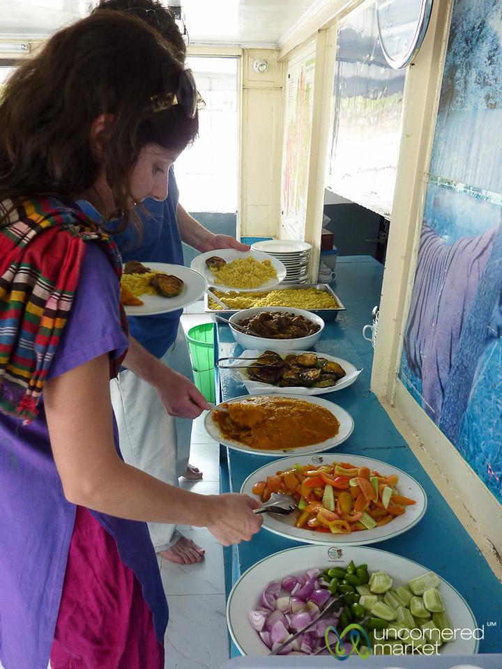 Lunchtime on the Boat - Sundarbans, Bangladesh