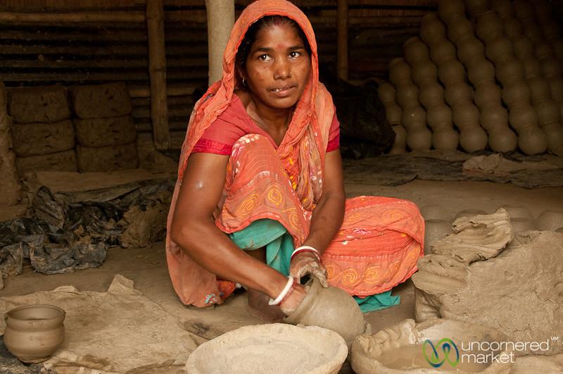 Traditional Pottery in Najirpur, Bangladesh