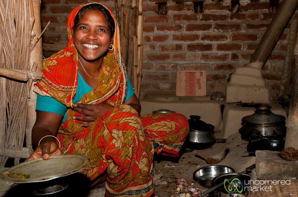 Bangladeshi Cooking at Home Stay in Hatiandha, Bangladesh