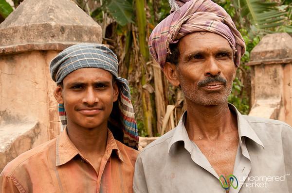 Men Working in Puthia, Bangladesh
