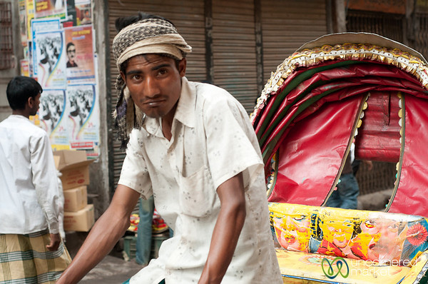 Rickshaw Driver in Old Dhaka - Bangladesh