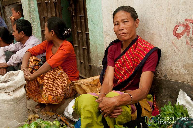 Indigenous Woman at Market - Bandarban, Bangladesh