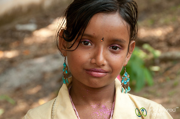 Girl with Glitter - Rangamati, Bangladesh