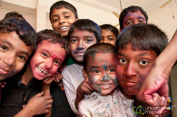 Holi Boys -- Dhaka, Bangladesh