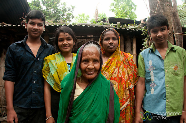 Hometay Family in Hatiandha, Bangladesh
