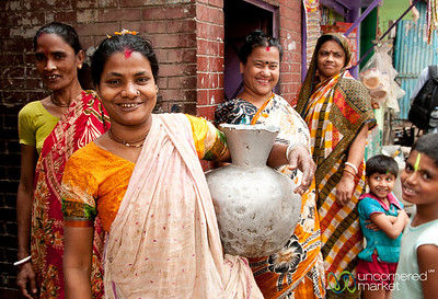 Collecting Water at the Well - Old Dhaka, Bangladesh