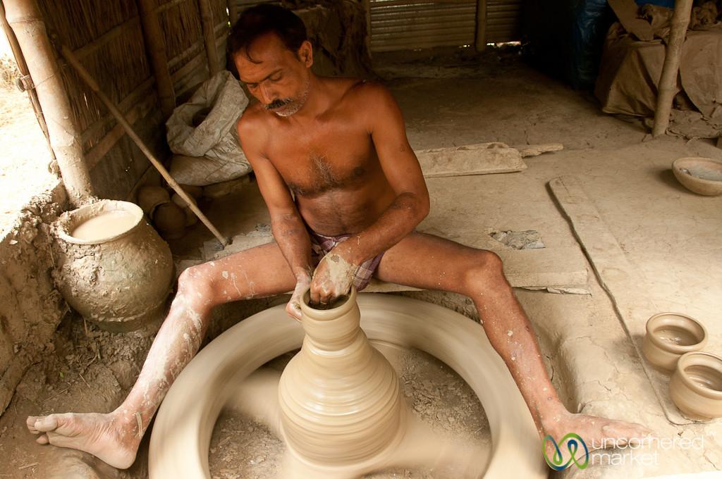 Traditional Pottery - Najirpur, Bangladesh