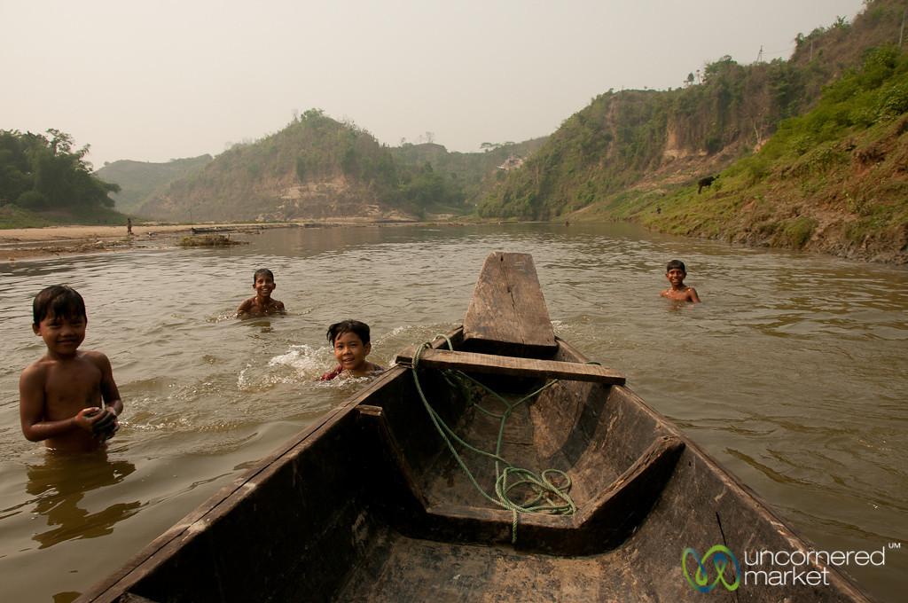 Floating Down the Shangu River - Bandarban, Bangladesh