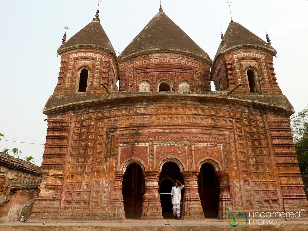 Govinda Hindu Temple - Puthia, Bangladesh