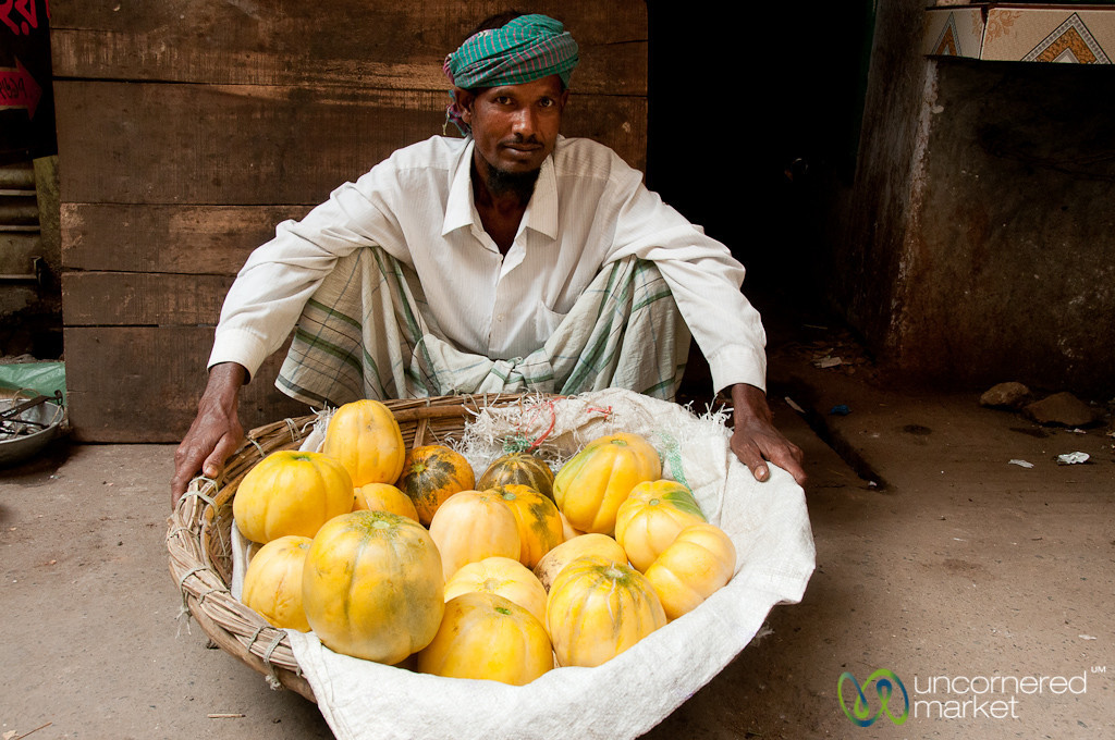 Melon Vendor on the Streets of Old Dhaka - Bangladesh