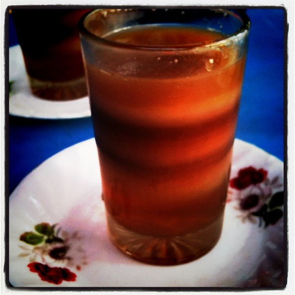 7-layer tea in Srimongal, Bangladesh