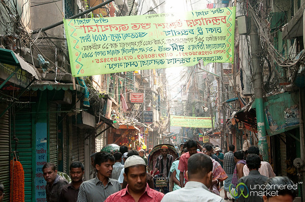 Slow Day in Shakhari Bazar - Old Dhaka, Bangladesh