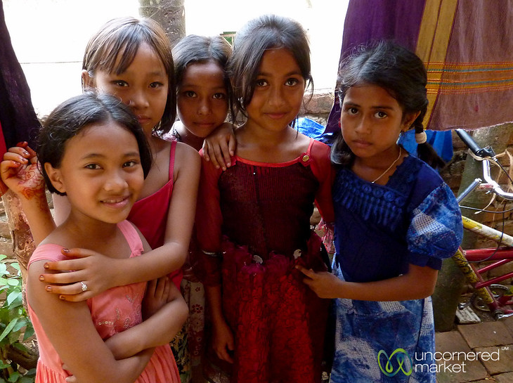 Diverse Group of Girls - Rangamati, Bangladesh