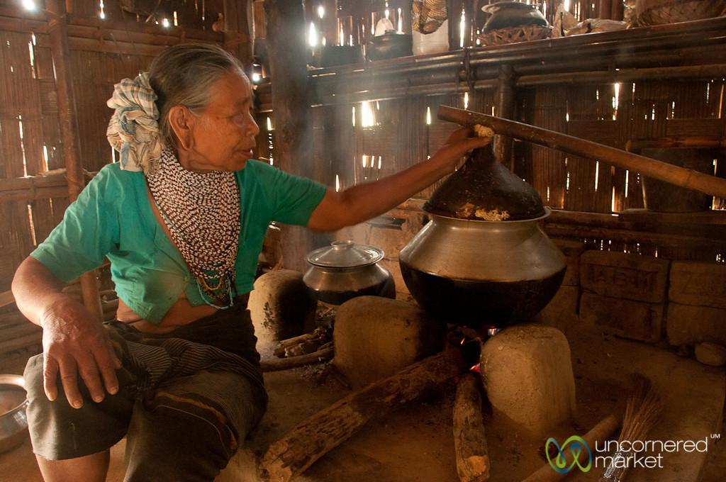 Rice Wine Making in a Tripura Village - Bandarban, Bangladesh