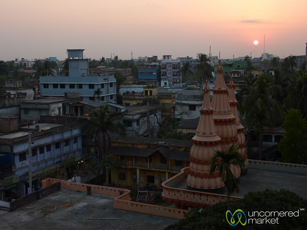 Sunset in Khulna, Bangladesh