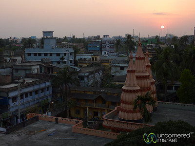 Sunset in Khulna, Bangladesh