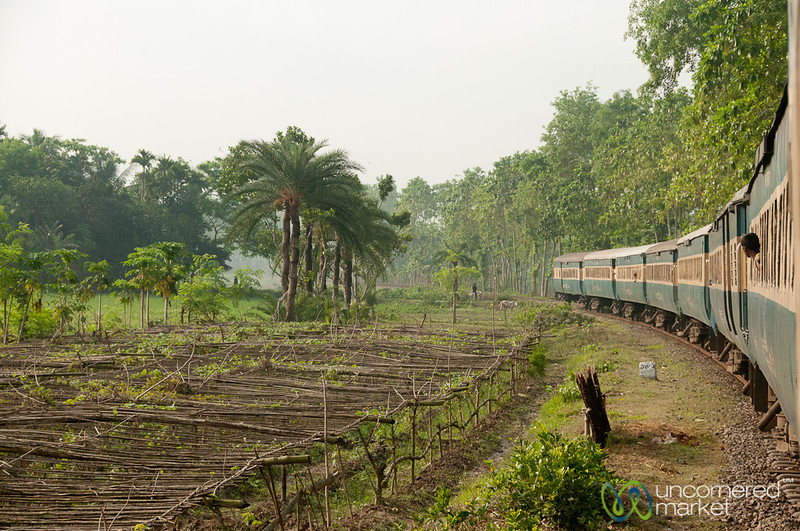 Train Ride through Rural Bangladesh - Khulna to Rajshahi