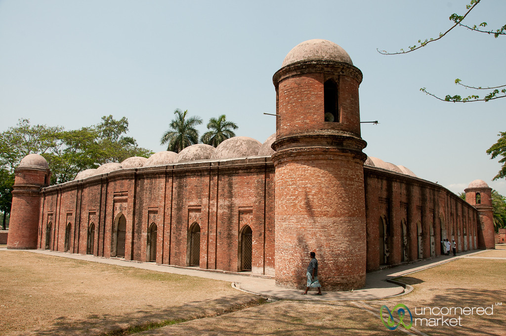 Shait Gumbad Mosque - Bagerhat, Bangladesh