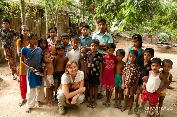 Children of Acholcot Village - Bangladesh