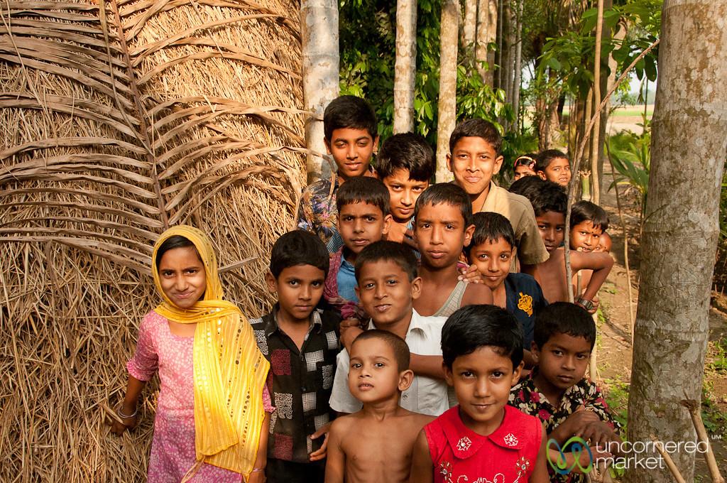 Kids from Alcholcot, Bangladesh