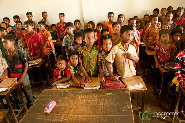 Classroom in a Rural School - Nalbata, Bangladesh