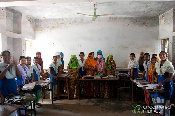 Girls Middle School Classroom - Hatiandha, Bangladesh