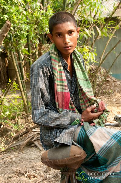 Bicycle Rickshaw Driver - Hatiandha, Bangladesh