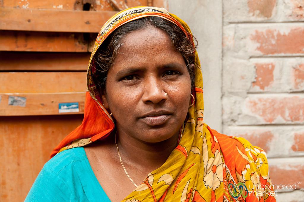 Bangladeshi Homestay Host and Mother - Hatiandha, Bangladesh