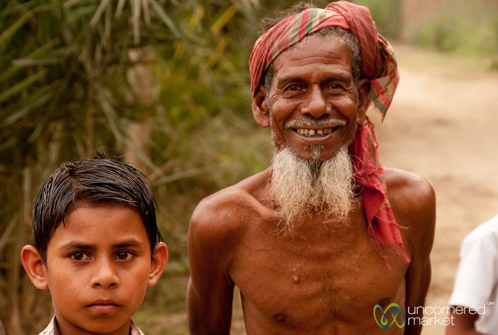 Men, Young and Old - Hatiandha, Bangladesh
