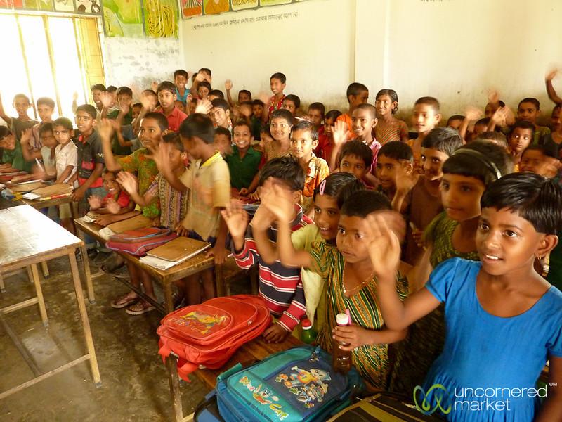 Young Students in Rural School - Nalbata, Bangladesh