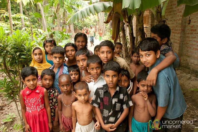 Children Gathering Together - Acholcot, Bangladesh