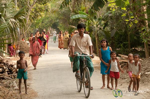 Village Street Scene - Acholcot, Bangladesh