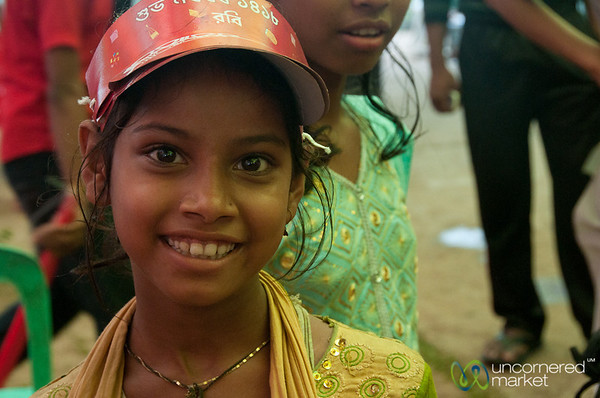 Girl Celebrating Bangla New Year - Rangamati, Bangladesh