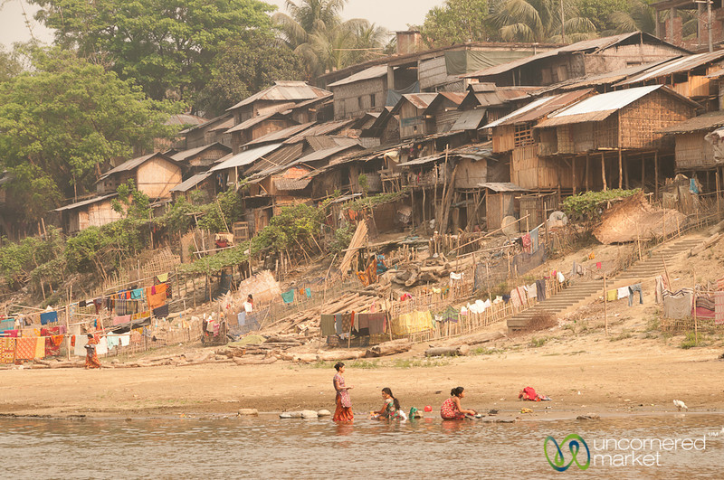 Living by Shangu River - Bandarban, Bangladesh