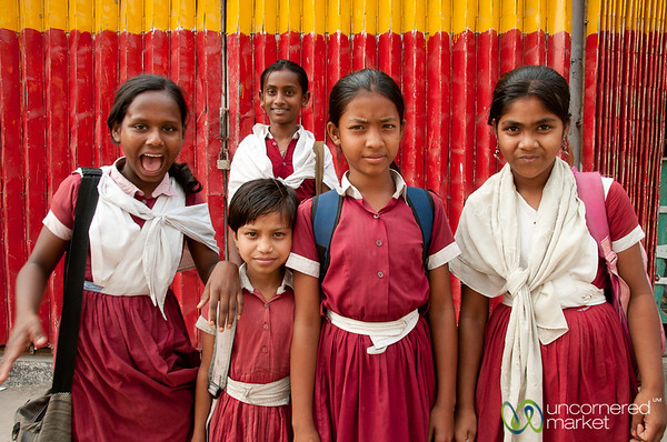 School Girls in Bandarban, Bangladesh