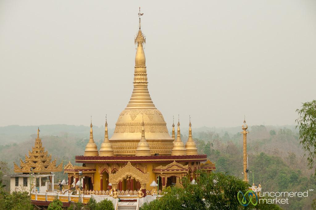 Buddhist Golden Temple - Bandarban, Bangladesh