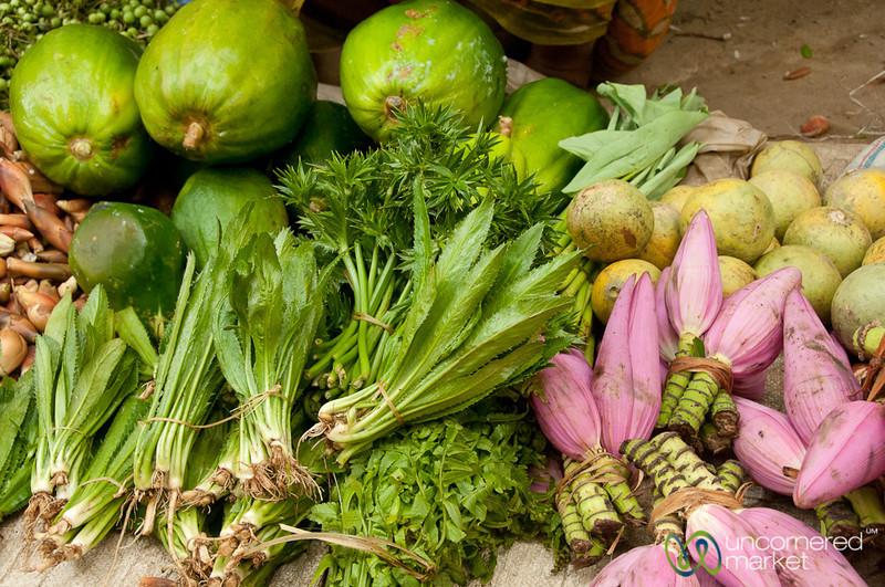 Colorful Vegetables and Fruit - Bandarban, Bangladesh