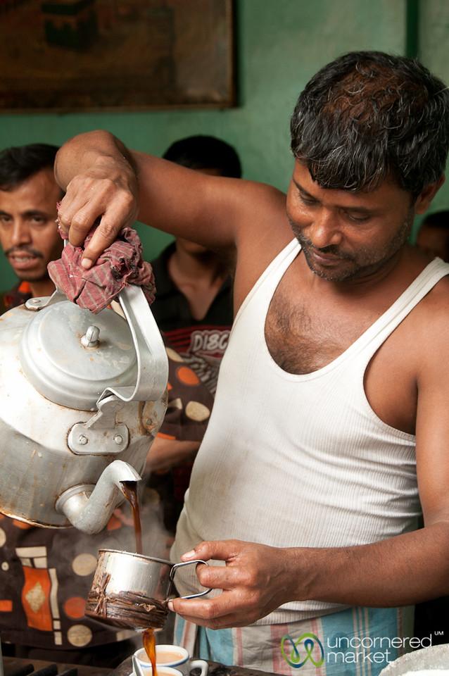 Tea Wallah in Old Dhaka - Bangladesh